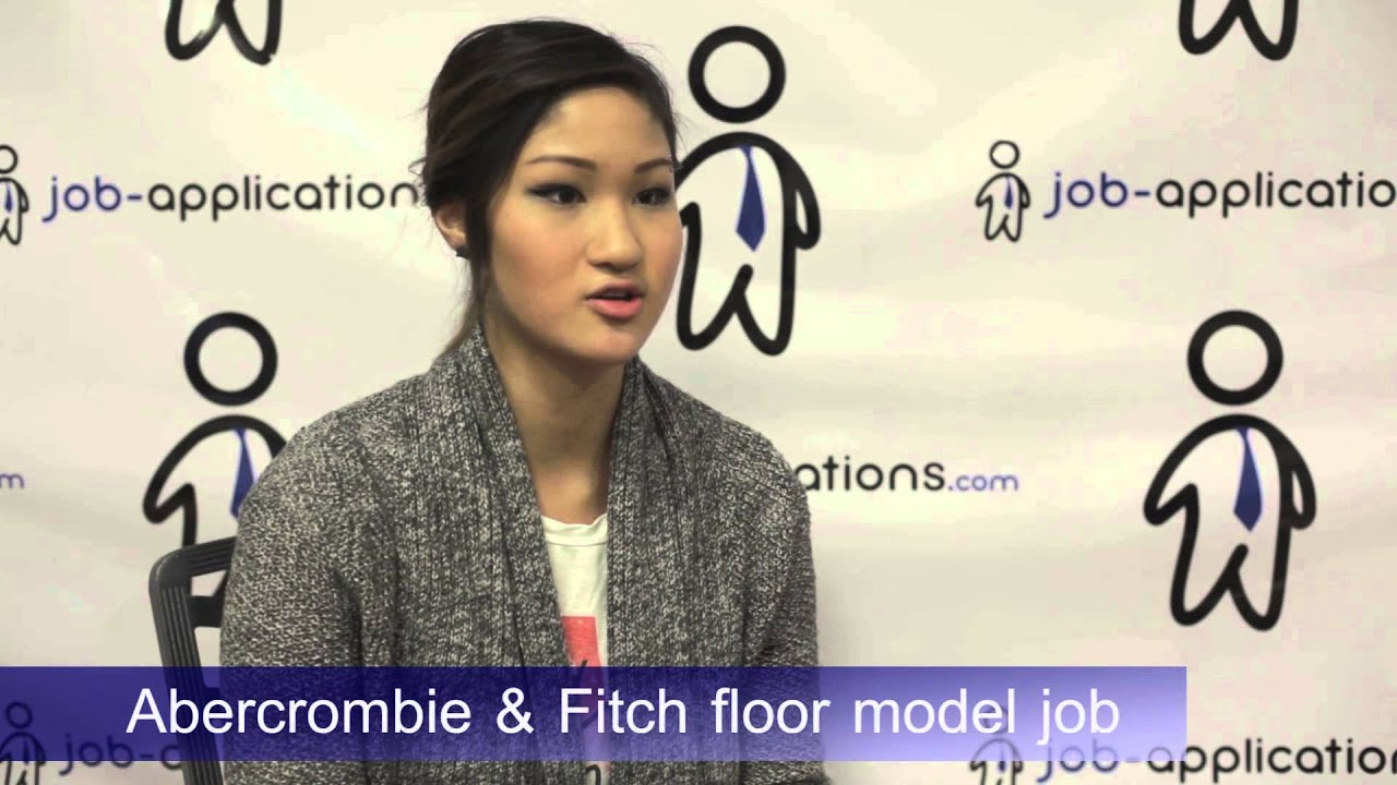 Abercrombie & Fitch Interview - Floor Model 4 - YouTube