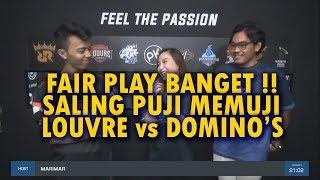 Fair Play Banget!! Saling Puji memuji - Louvre Vs Domino#39s