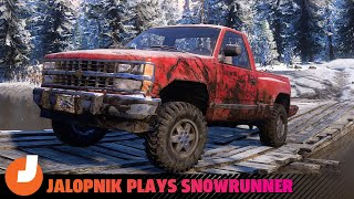 homepage tile video photo for SnowRunner Gameplay: Trucks And Off-Road Techniques
