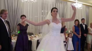 Pierwszy taniec na wesoło. Izabella & Norbit 27.08.2016r.