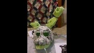 как сделать маску спрингтрапа из бумаги