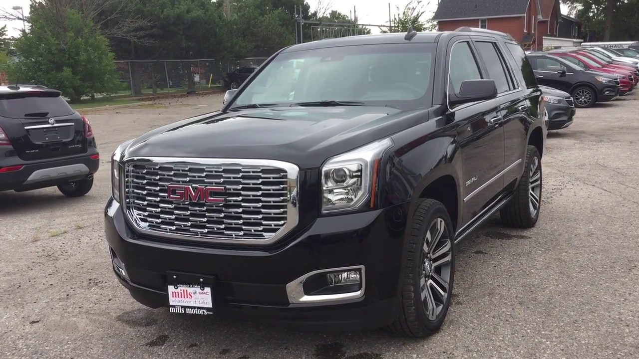 2019 Gmc Yukon Denali Handsfree Hatch Head Up Display 6 2l Blu Ray Oshawa On Stock 190025
