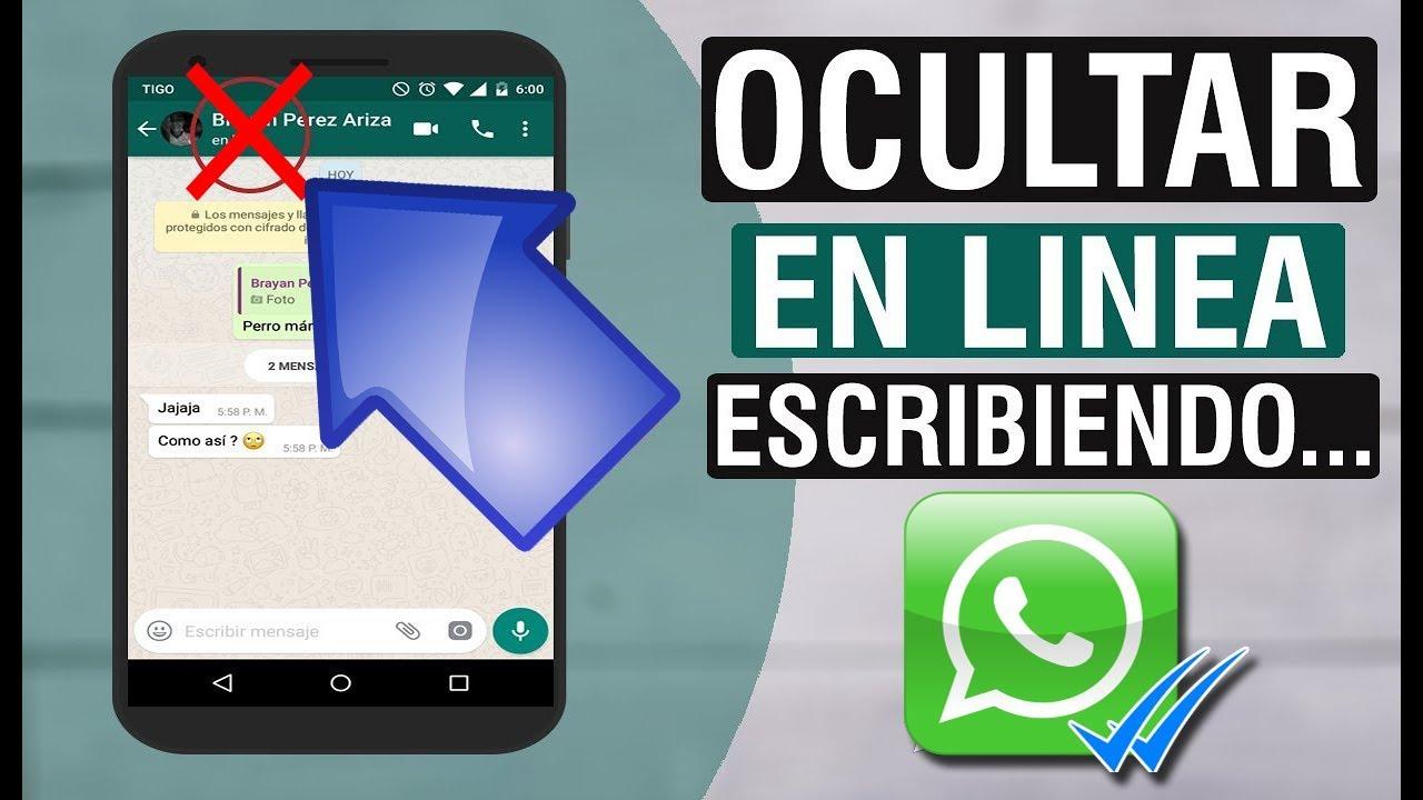 ocultar en linea whatsapp iphone