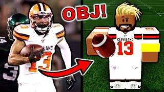 ODELL BECKHAM JR IN ROBLOX! (FOOTBALL FUSION)