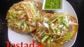 Easy tostada recipe 15 september food