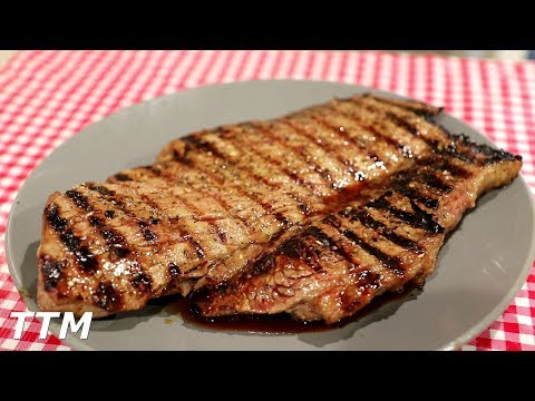 How To Make Grilled London Broil~Easy Cooking