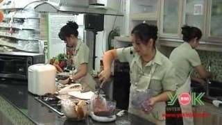 Khanom Pang Na Moo - Pork On Crispy Bread