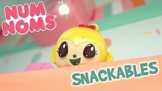 Becky Banana's Donut Delight | Num Noms Snackables | Webisode 11