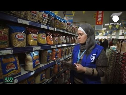 Aid Zone: E-cards as food assistance for refugees in Turkey