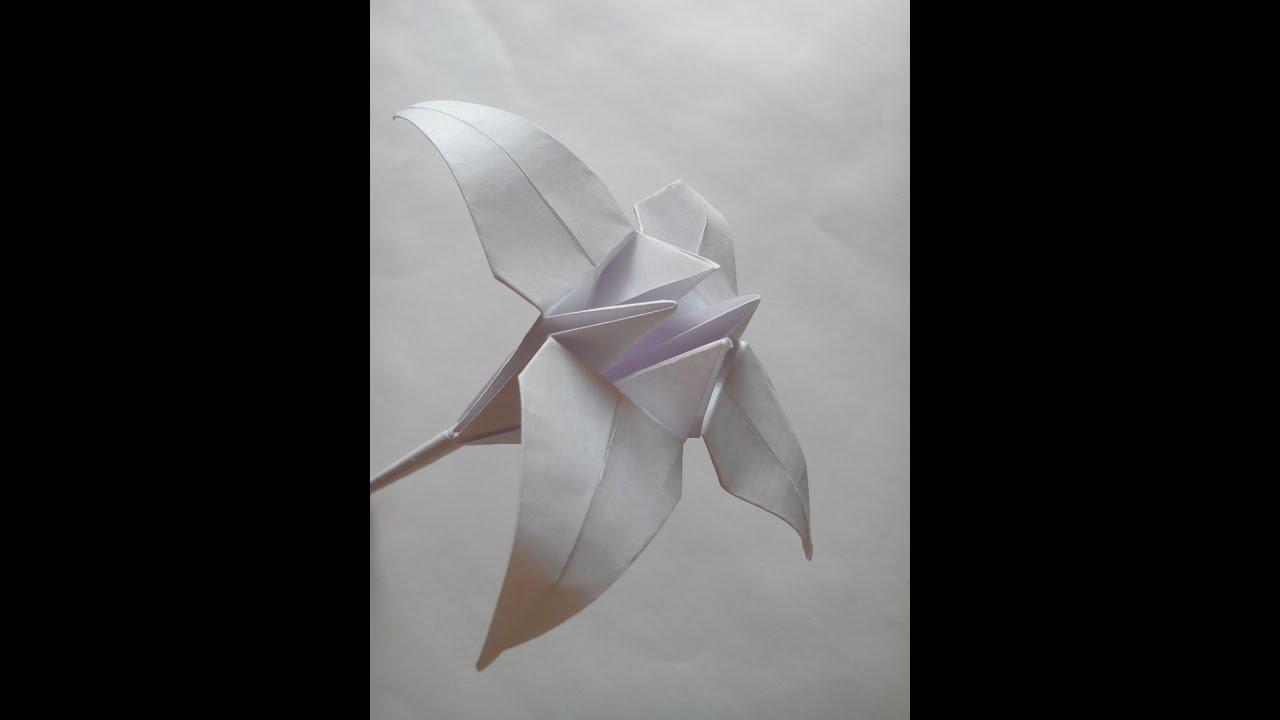 Цветы своими руками из бумаги а4
