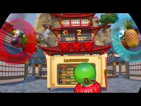 Fruit Ninja Vr Live!