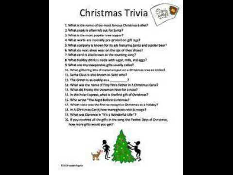 christmas trivia questions christmas story