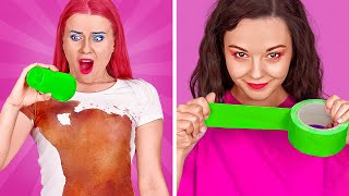 FUNNY PRANKS FOR BACK TO SCHOOL USING MAKEUP AND FOOD || Bestie Prank Challenge by 123 GO! SCHOOL