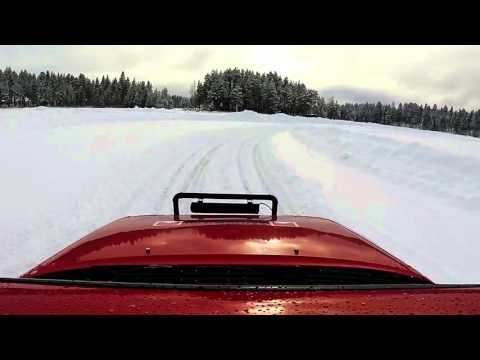 Toyota Celica GT-Four (ST165) Ice racing