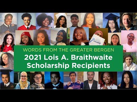 Hear From Our 2021 Braithwaite Scholars