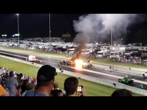 Watch John Lawson's fiery crash at U.S. 131 Motorsports Park