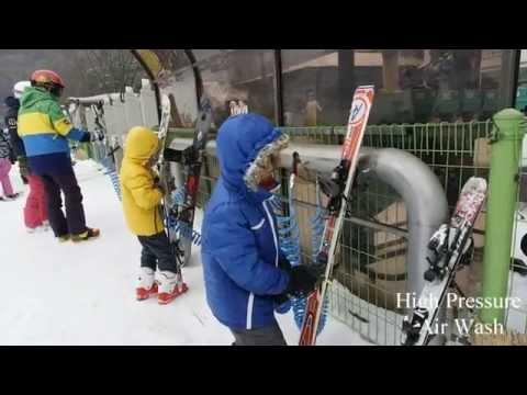 Konjiam Ski Resort, Seoul Korea with Kids (2014)