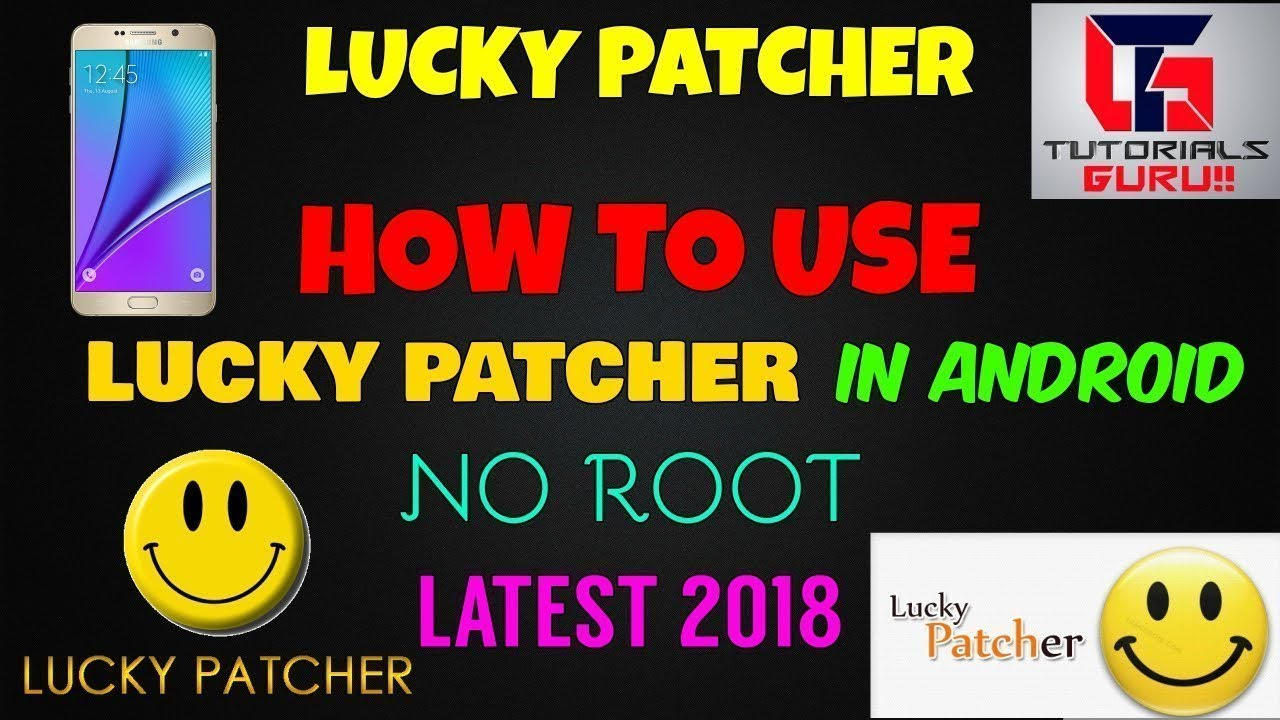 How To Use Lucky Patcher   In Android   Hindi   Without Root   Latest 2018 Method   Tutorials Guru