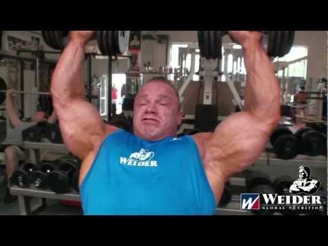 Ronny Rockel Shoulders and Triceps August 2011 WEIDER Germany