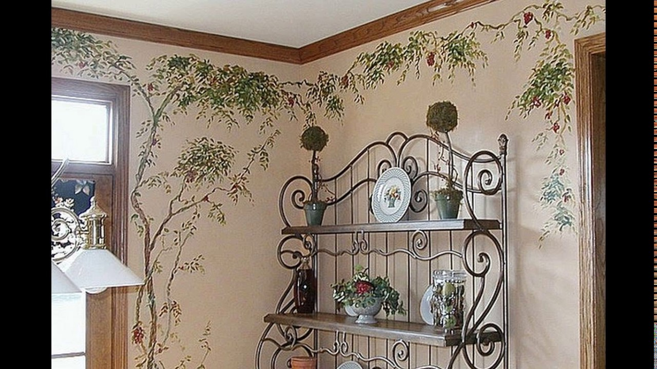Kitchen Wall Painting Designs