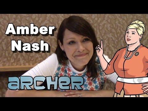 Archer Season 6 - Amber Nash Interview - Comic-Con 2014