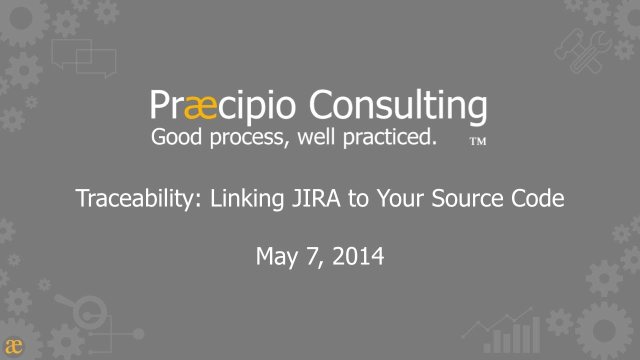 Traceability: Linking JIRA to Your Source Code