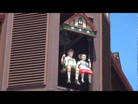 The Glockenspiel in Mt. Angel, Oregon