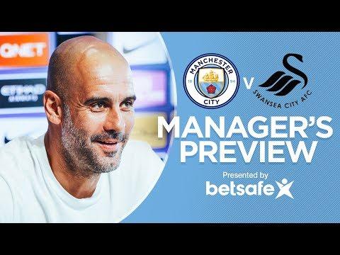 Pep guardiola | press conference, man city vs swansea - premier league