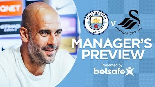 Pep guardiola | press conference, man city vs swansea - premier league