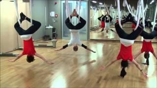 AntiGravity Yoga в расписании групповых программ World Class Almaty.