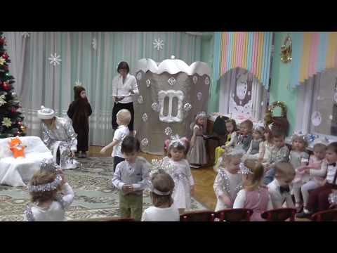 Новогодний утренник в детском саду. Аделине 2.7 г