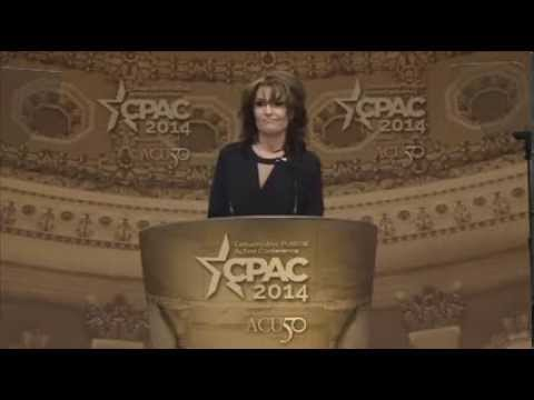 """Sarah Palin: """"After all, who could've seen this coming?"""" - CPAC 2014"""