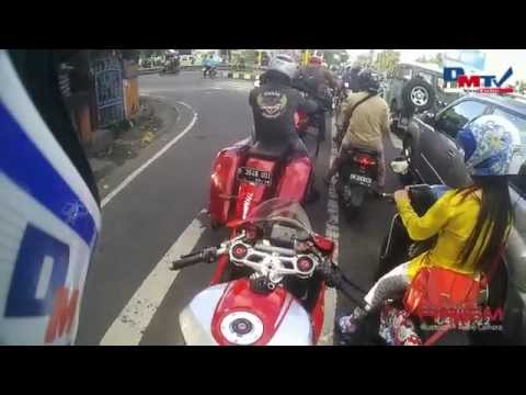 Bali Ride On A Victory & Ducati using Sena Prism (Video 14)