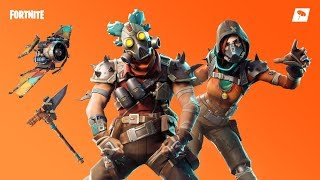 SHOP FORTNITE 04/11/2018!! NEW SKINS BUSTLE AND MASSACRE, SCRAP WHEEL AND SCHEGGIATORE