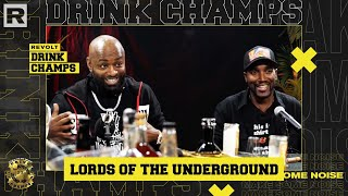 Lords Of The Underground On The Notorious B.I.G, Diddy, Their Origin & More | Drink Champs