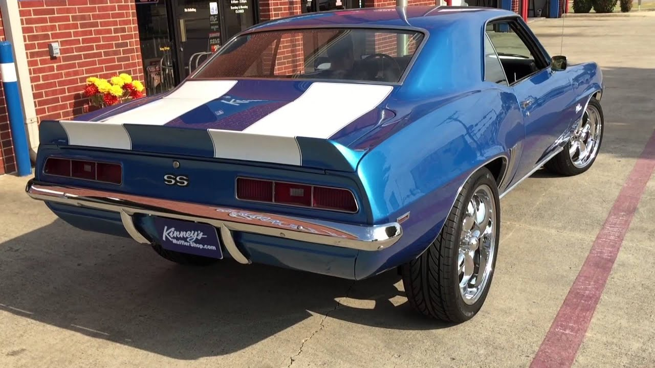 1969 used chevrolet camaro ss serving st louis, mo at exotic motors midwest | $74995 | blue.