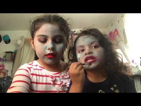 Rainbow dash makeup tutorial