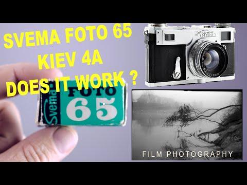 Svema Foto 65 Expired Film with the Kiev 4a