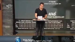 Reynmen TV 8 Canlı Yayında 25000 TL Bağış Yaptı #reynmen #benfero #nusret #hadise #muratboz #beyaz