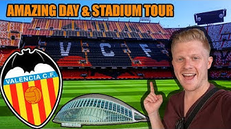 VALENCIA MESTALLA FOREVER STADIUM TOUR & Valencia Travel Guide - Stadium Tour #5 Vlog!