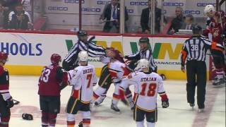Gotta See It: Domi Lays Out Garnet Hathaway At Centre Ice, Ends Up With Bloody Eye