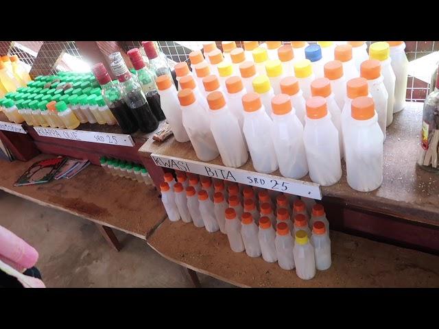 CUWC#16 Suriname deel 6:Dorpswandeling Guyaba & Tour Menimi