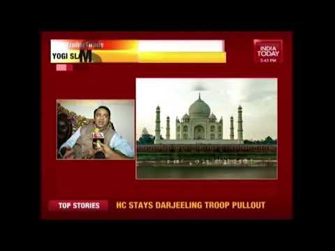 5ive Live: CM Yogi Distances from Sangeet Som's Statement On Taj Mahal