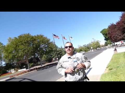 "LIVERMORE NUCLEAR LAB: (GUARD) ""I'M NOT DONE, (ME) ""YES U ARE"" 1st Amend Audit"