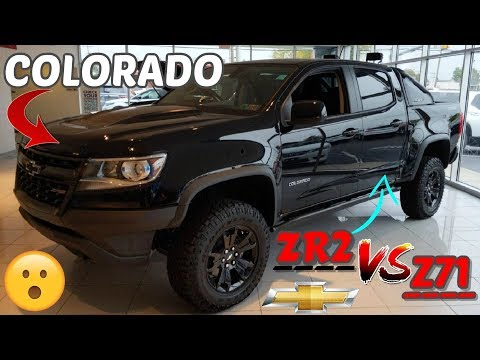 Chevrolet Colorado ZR2 Review. Z71 COMPARED to the ZR2. Is it worth it?! 🤔