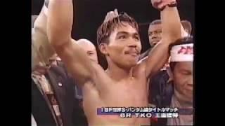 IBF・WBO世界スーパーバンタム級王座統一戦  マニーパッキャオVSアガピトサンチェス