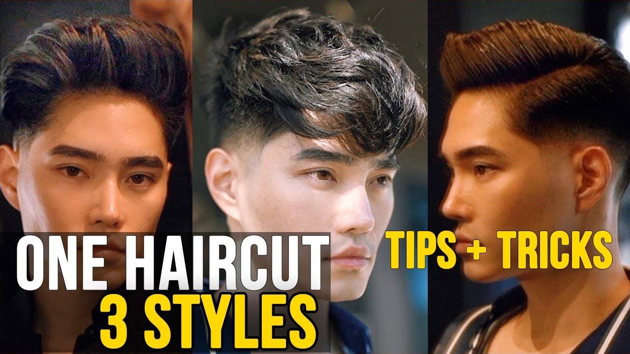 HOW TO GET A FADED HAIRCUT | 2019 Best Men\'s Hairstyle Tips & Trends |  HIGHLIGHTING ASIAN HAIR