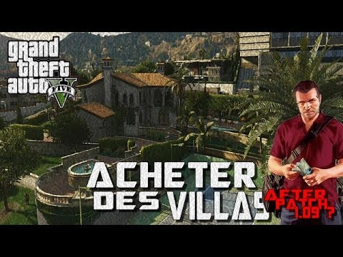 Gta5 glitch online acheter les villas after patch youtube - Acheter une maison en concubinage ...