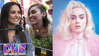Miley Cyrus SHADES Demi Lovato VIDEO - Katy Perry's NEW SINGLE (DHR)
