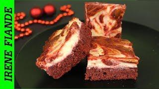 Красный бархат чизкейк брауни. Потрясающе вкусные пирожные со сливочным сыром